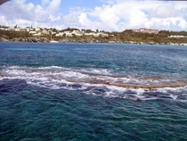 Shallow reefs off the South Shore of Bermuda - what we call boilers