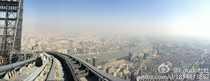 Shanghai from atop of the Shanghai Tower