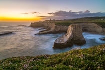 Shark Fin Cove near Santa Cruz CA  by Simon Huynh