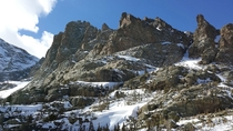 Sharkstooth Spires Rocky Mountain National Park CO  OC