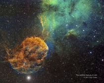 Sharpless  and the Jellyfish Nebula by Eric Coles