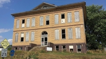Sharpsburg Iowa school building used from  until  x