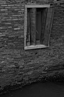 Shattered Window Venice Italy