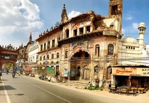 Shaukat Mahal only building in Bhopal with mixed Indo-Islamic-French architecture constructed in the s as a wedding gift for Sikander Jahan Begum the first female ruler of Bhopal