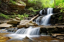 Shawnee Falls Ricketts Glen Pennsylvania