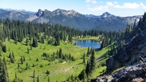 Sheep Lake WA at Mt Baker-Snoqualmie National Forest