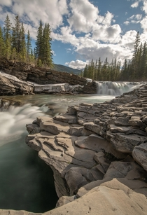 Sheep River Falls Alberta OC -  x