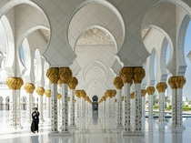 Sheikh Zayed Mosque in Abu Dhabi Chris Wilde