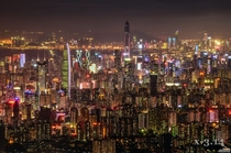 Shenzhen China grows taller every day