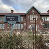 Shepard School St Louis MO Under construction hope it turns into something cool
