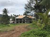 Sheraton resort Rarotonga Cook Islands Abandoned when nearly complete It never opened Dozens of buildings like this