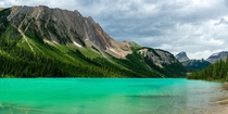Sherbrooke Lake Yoho national park Canada