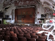 Shes gone now but what a great playground she was A popular state hospital theater in CT