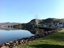 Shieldaig on the West Coast of Scotland x