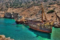 Ship Wreck in Greece