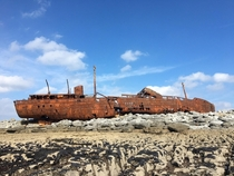 Ship Wreck of Inisheer Island