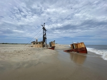 Ship wreck - Oregon inlet NC Boat was named Ocean Pursuit