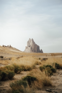Shiprock Formation in New Mexico