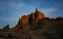 Shiprock in New Mexico