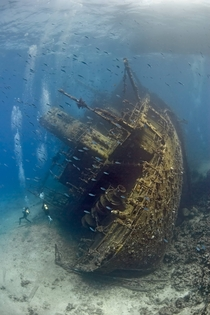 Shipwreck in the Red Sea  x-post from rTravel_HD