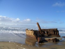 Shipwreck of the George L Olson Steam Schooner Coos Bay Oregon