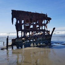 Shipwreck of the Peter Iredale Fort Stevens State Park OR
