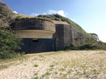 Shore Battery near Ft Pickens on the Gulf Islands National Seashore in Pensacola FL