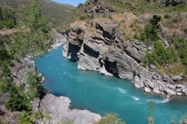 Shot of the Shotover Otago New Zealand