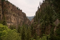 Shot on the hike to Hanging Lake in Colorado