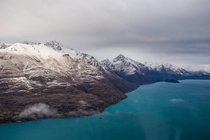 Shot this while on a helicopter tour of Queenstown New Zealand