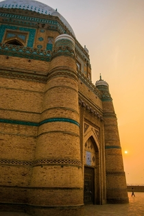 Shrine Of Shah Rukn-e-Alam Multan Pakistan  By Ibrahim Shah