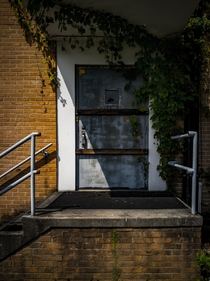 Side Entrance - Abandoned Hospital Pell City AL