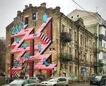 Side view of the building I posted earlier Kiev Ukraine