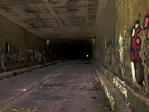 Sideling Hill Tunnel Part of the Abandoned Pennsylvania Turnpike Breezewood Pennsylvania