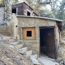 Siebert mining cabin near Morris Peak CA Maintained by BLM volunteers