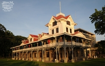 Silliman University Hall  - the oldest standing American structure in the Philippines built in