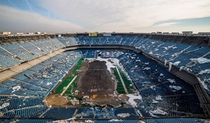 Silverdome in Pontiac Michigan