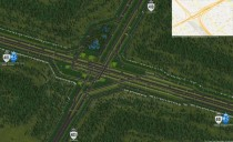 SimCity  highway interchange inspired by the  junction near Toronto