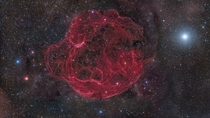 Simeis  is a supernova remnant with an apparent age of about  years