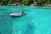 Similan Islands off the coast of Thailand