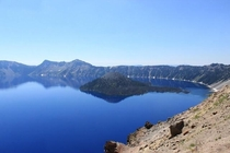 Since Crater Lake is getting so much attention heres a shot I got of it Oregon