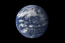 Since everyone is posting their amateur super high res space photo here is a photo of earth I took with my iPhone