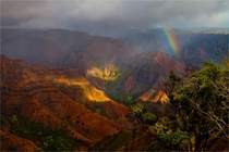Since were on the subject of Grand Canyons I give you Waimea Canyon the Grand Canyon of Hawaii