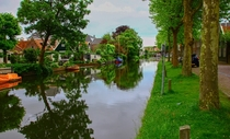Since you all liked the last one here is a different angle of the same canal Edam Netherlands