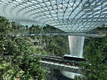 Singapore - Jewel airport integrating a garden within a shopping