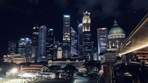 Singapore Skyline From National Gallery Singapore