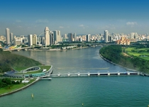 Singapores Marina Barrage