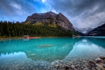 Sinking Into Lake Louise Banff Canada   Chris Muir