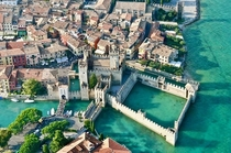 Sirmione Italy The fortress on the lake
