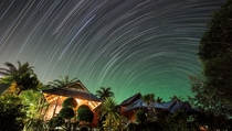 Six hours of stars over my jungle beach hut